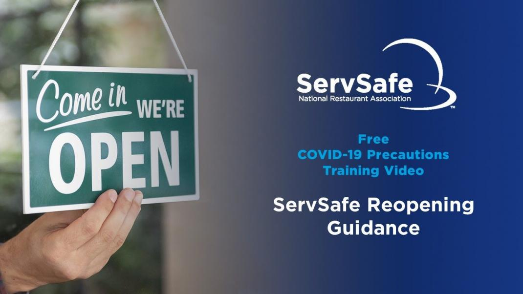 ServSafe COVID-19 Precautions Reopening Guidance